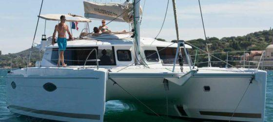 Helia 44 At Anchor