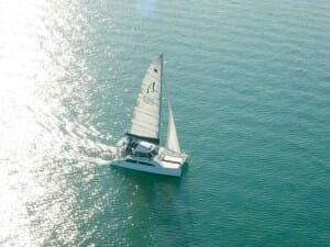 Catamaran Jib