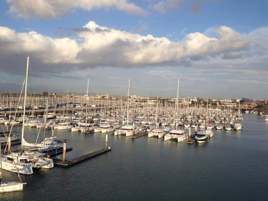 Minimes marina in La Rochelle France.