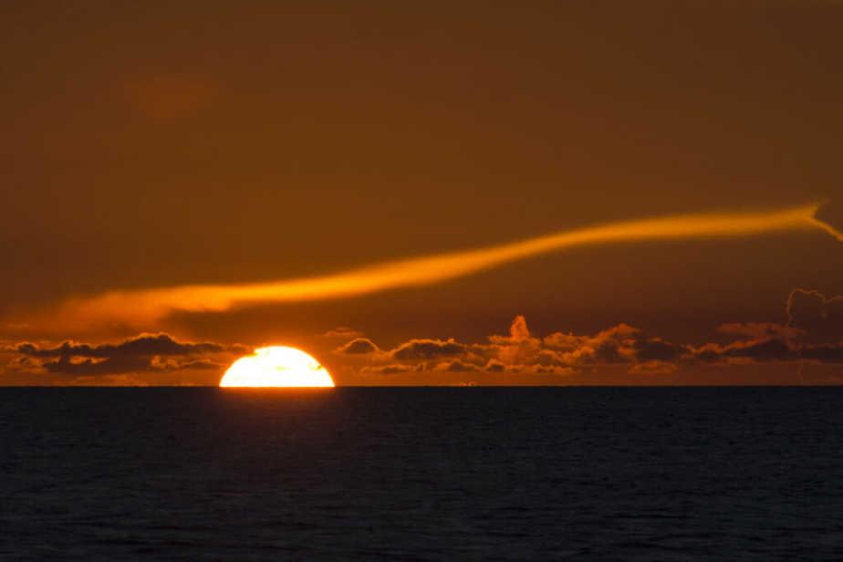 Gun Cay Sunset