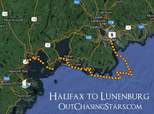 Out Chasing Stars Halifax to Lunenberg: Cruising Nova Scotia's South