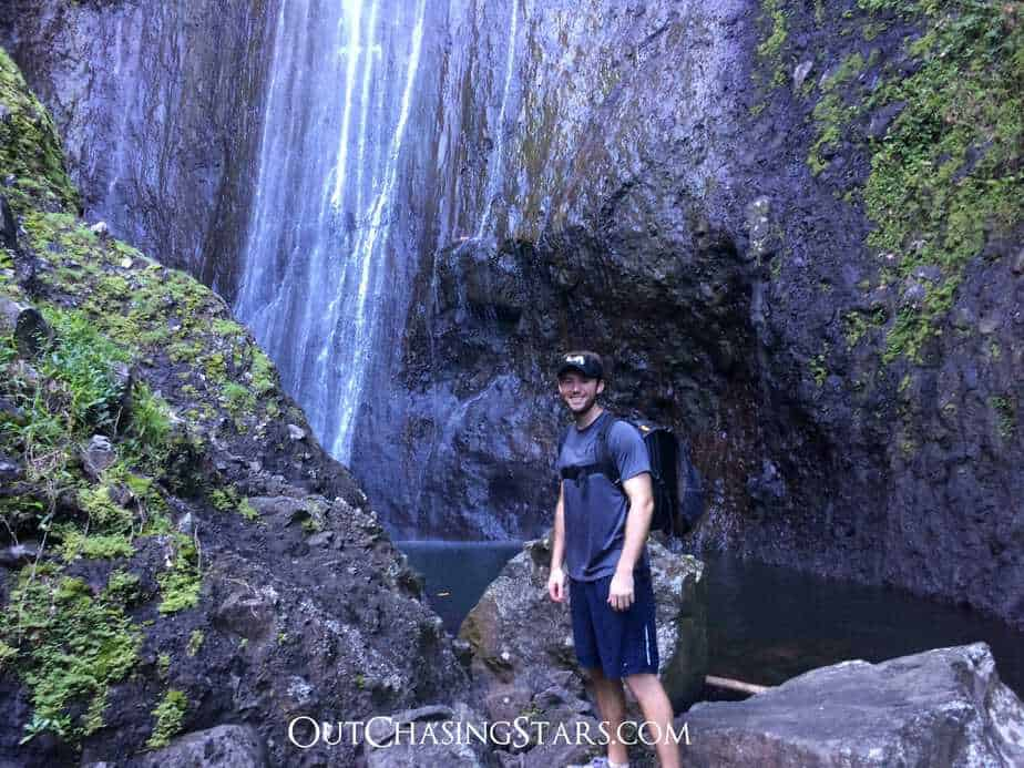 Fatu Hiva Waterfall with David