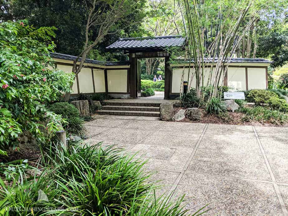 Out chasing stars three days in brisbane out chasing stars for Japanese garden entrance