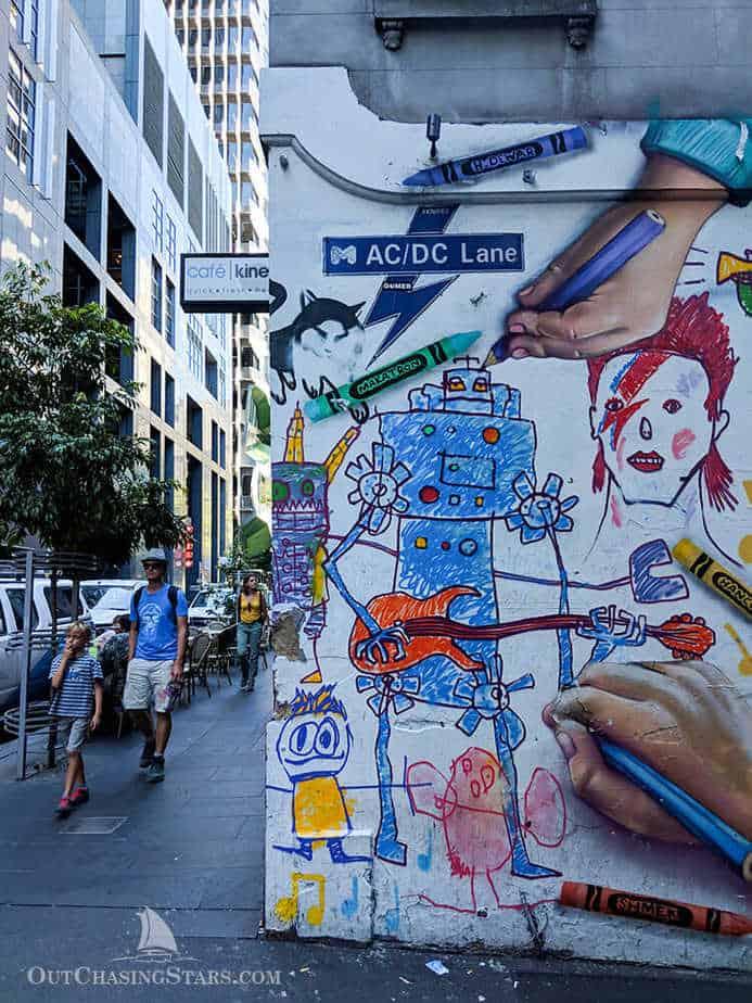 Melbourne Laneways Walking Tour - ACDC Lane